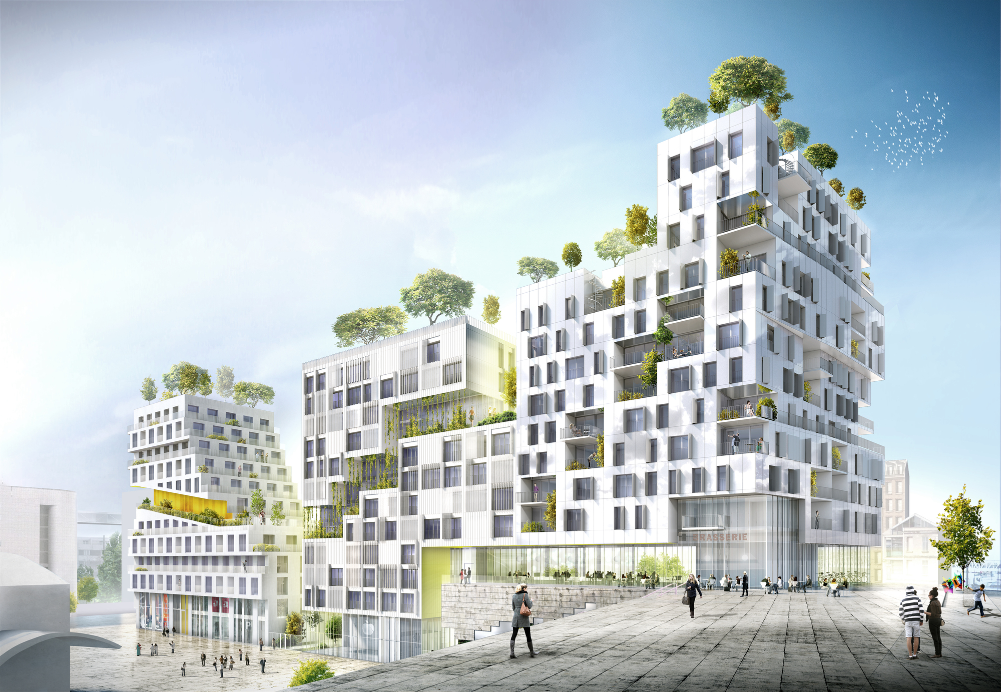 Gallery Of Search Wins Housing Block Competition In Paris 3
