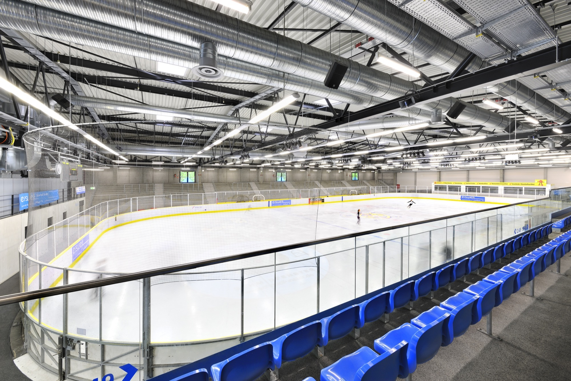 New Ice Skating Hall Herrmann Bosch Architekten C Ralf Dieter Bischoff