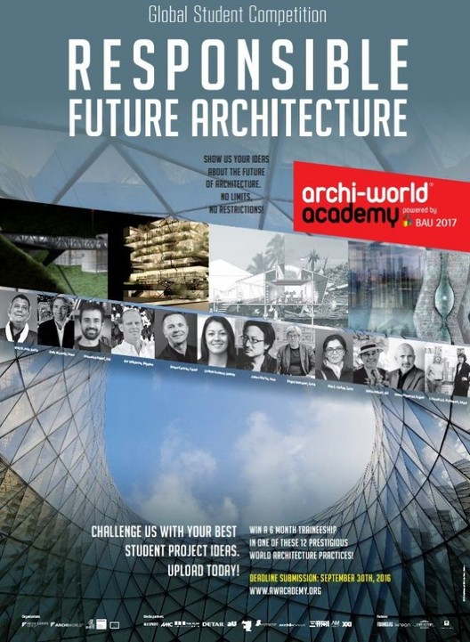 Inscrições abertas para o Archi-World Academy Awards
