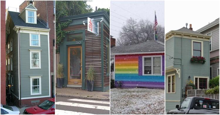 Estas casas improváveis são uma lição de como odiar seus vizinhos