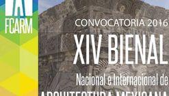 """Convocatoria abierta: XIV Bienal Nacional e Internacional de Arquitectura Mexicana """"Arquitectura para todos"""""""