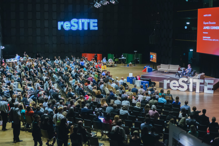 """reSITE 2016: 5th International Conference on a Hot Topic – """"Cities in Migration"""", reSITE Conference, Prague, Forum Karlin. Photo Dorota Velek"""