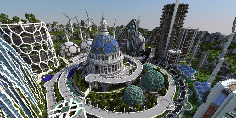 How Minecraft is Inspiring the Next Generation of Young Architects, Courtesy of BlockWorks