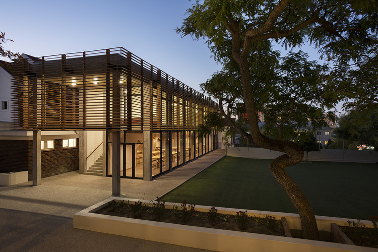 Escola Francesa na Cidade do Cabo / Kritzinger Architects, © Adam Letch