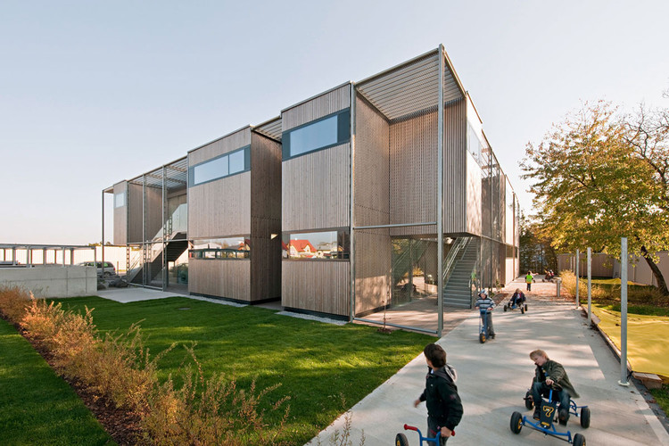 Kindergarden Schukowitzgasse / KIRSCH Architecture, © Hertha Hurnaus