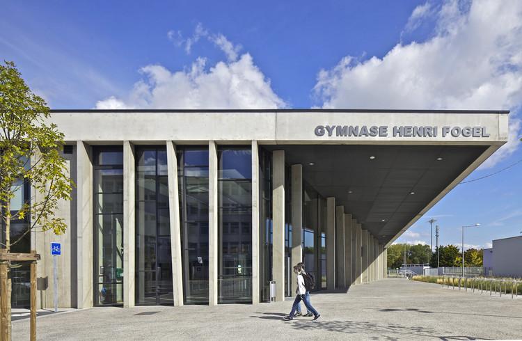 Gimnasio Henri Fogel / Christophe Rousselle Architecte, © Philippe Ruault