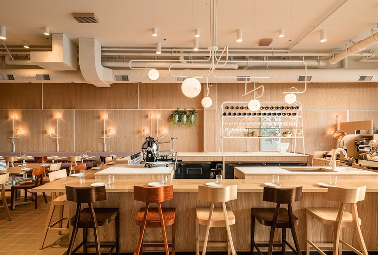 Osteria Savio Volpe / Ste Marie Art Design, © Knauf and Brown