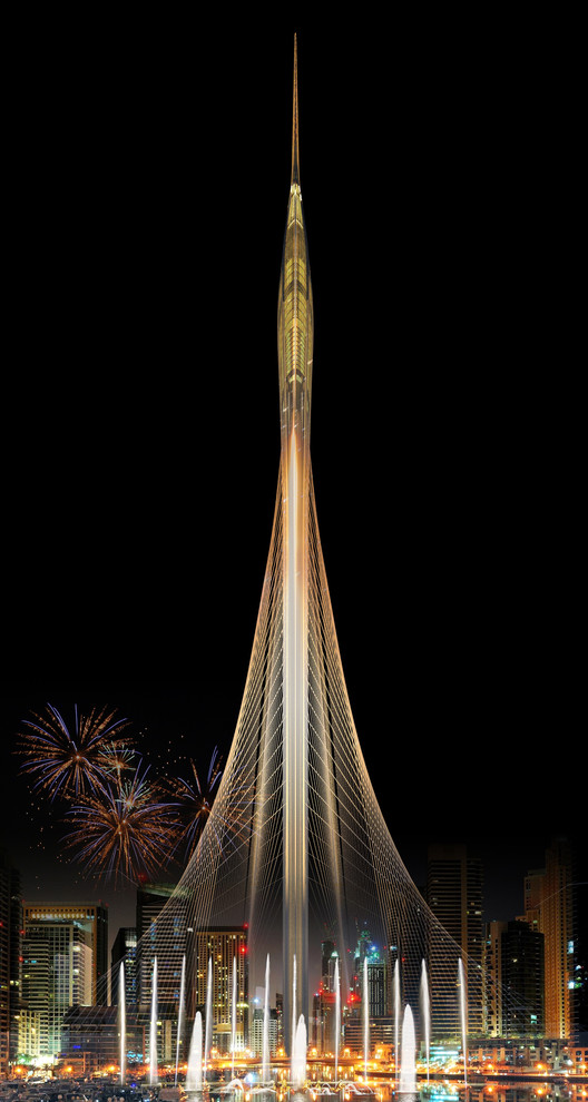Santiago Calatrava Wins Competition to Design Landmark Observation Tower in Dubai, © Santiago Calatrava