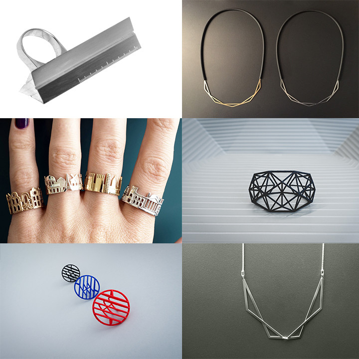 4 Architecturally Inspired Jewelry Lines