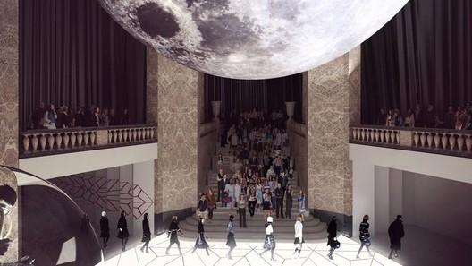 Inside the future Galeries Lafayette Champs-Élysées. Image © Galeries Lafayette