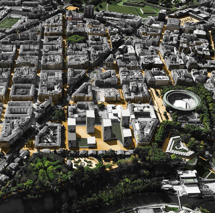 Aprueban plan maestro de uso mixto en Pamplona diseñado por Javier Larraz e Ignacio Olite, Cortesía de Javier Larraz + Ignacio Olite