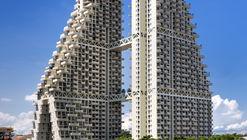 Sky Habitat Singapura / Safdie Architects