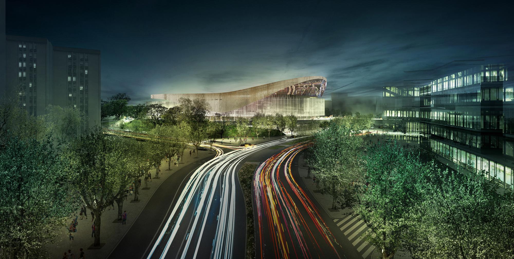 Así será el nuevo Palau Blaugrana del Barça