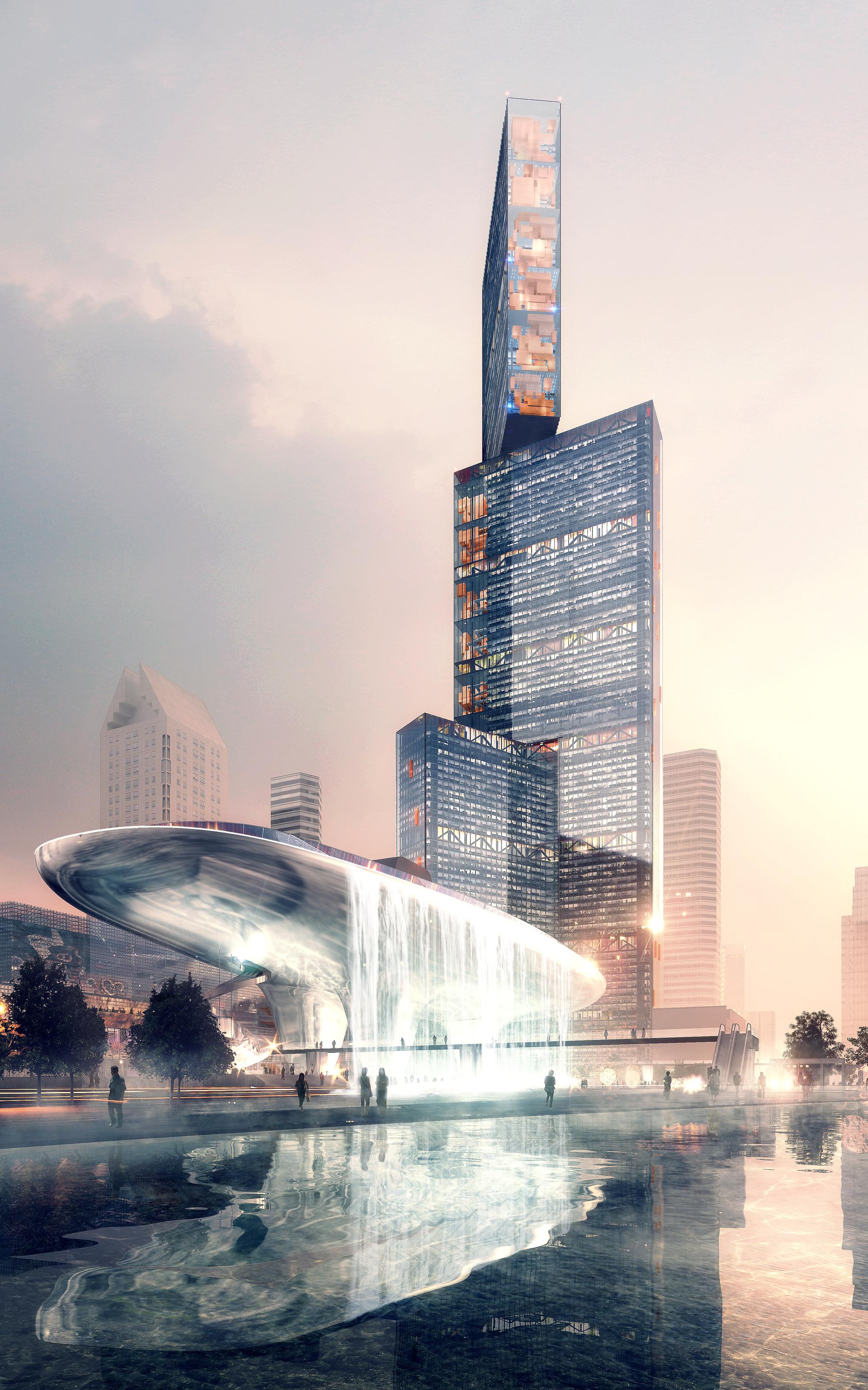 PLP diseñará el rascacielos más alto del delta del río Perla en China