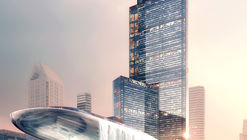 PLP Unveils Pearl River Delta's Tallest Building as Part of New Masterplan