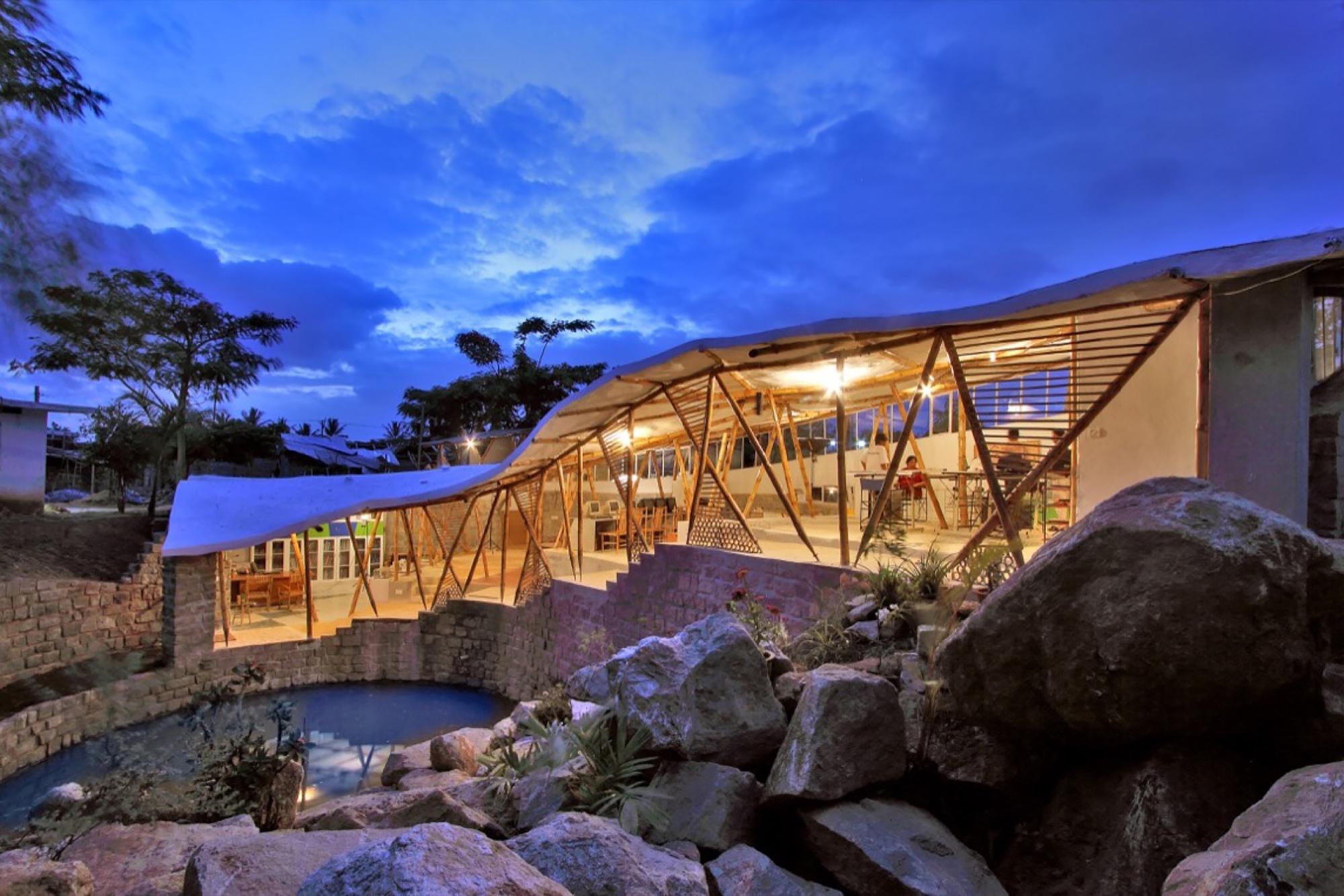 Bamboo Symphony Manasaram Architects Archdaily