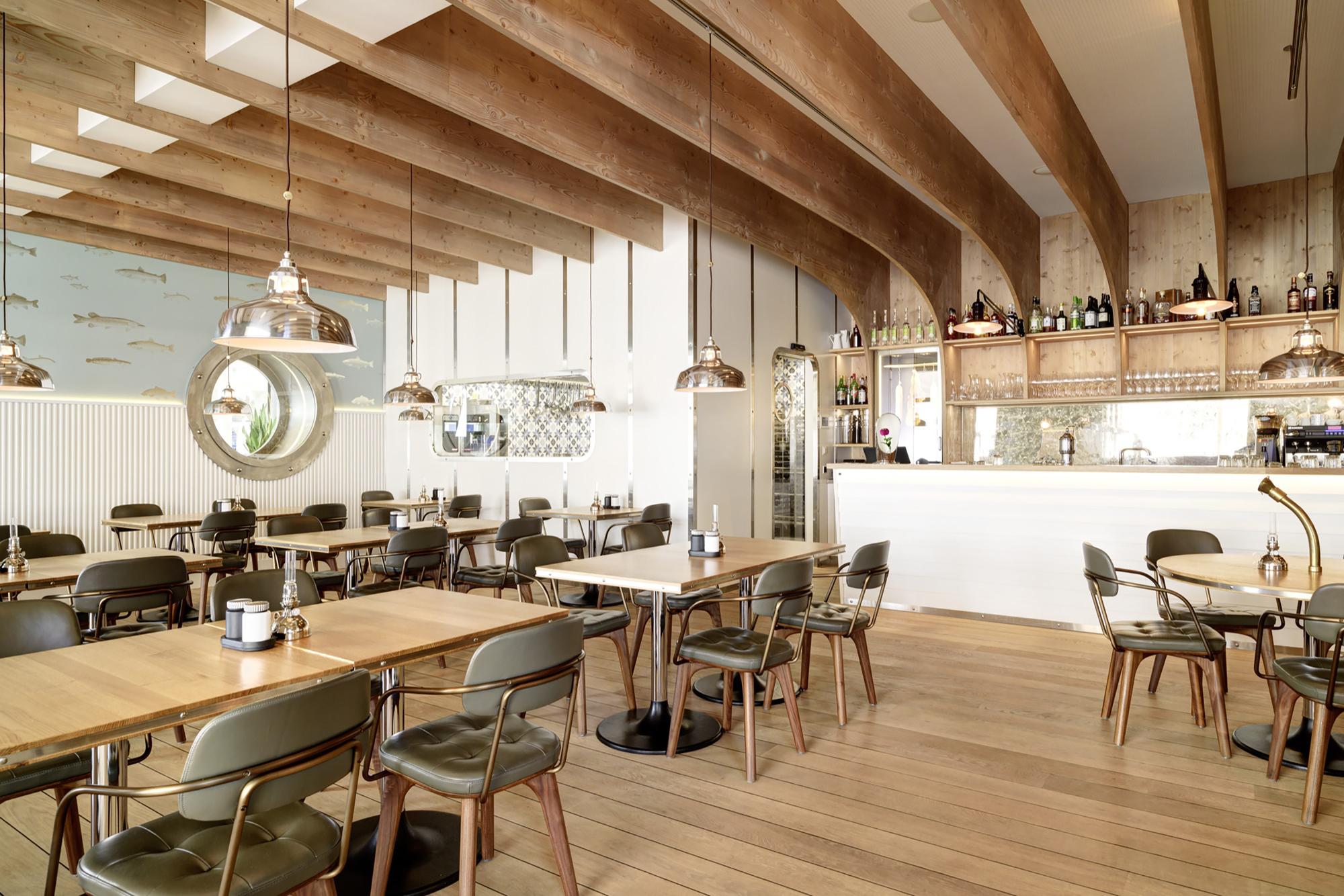 Restaurant hafen susanne fritz architekten archdaily