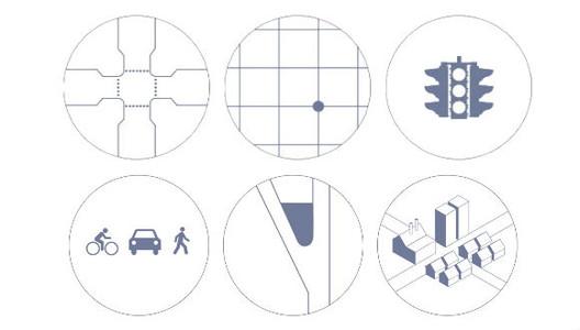 6 principios de diseño urbano para mejorar la seguridad en las intersecciones, © NACTO