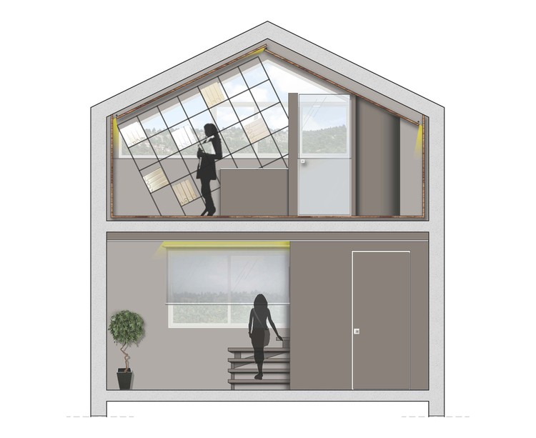 Golden Ratio House Design golden ratio headquarter / golden ratio collective architecture
