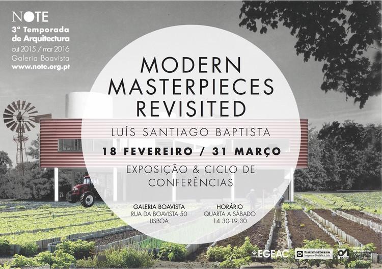 """Exposição """"Modern Masterpieces Revisited - Luís Santiago Baptista"""" em Lisboa, via Galeria Note"""