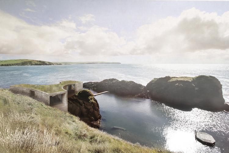 Carmody Groarke Selected to Design Cliff-Top Hotel Retreat on UK's South Coast, © Carmody Groarke