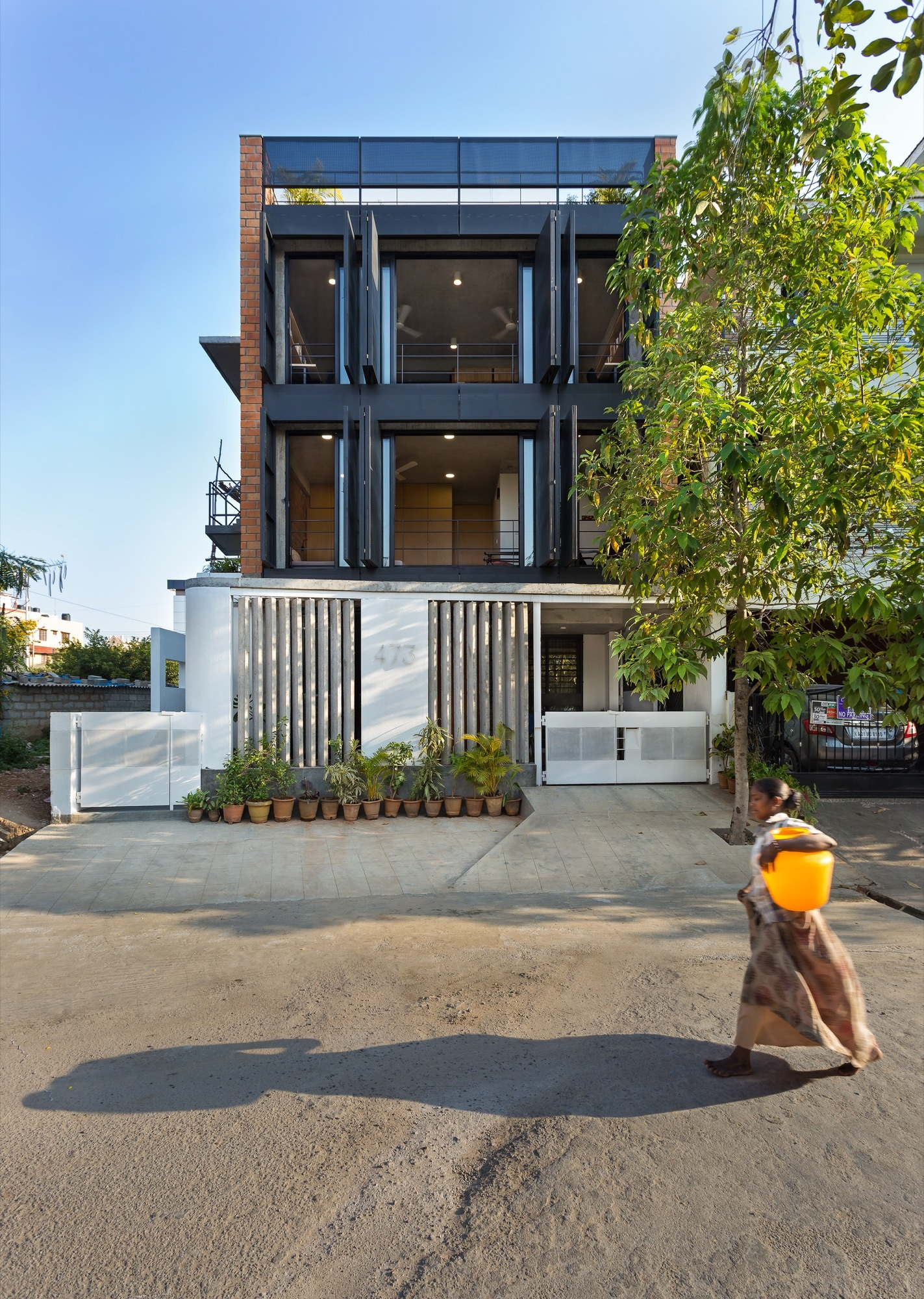 Architects home studio betweenspaces archdaily for Between spaces architecture bangalore