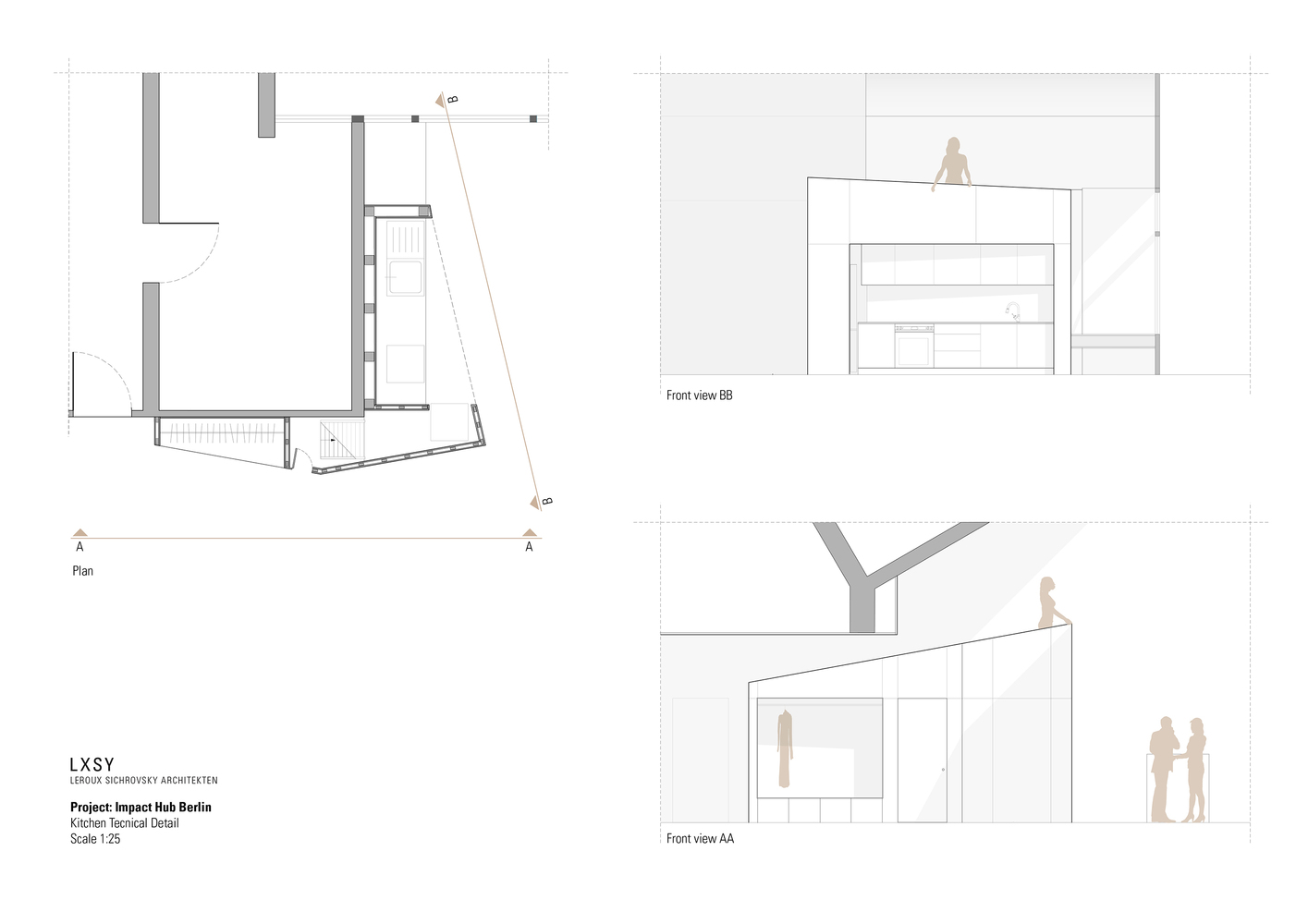 100 floor plan front view architectural linear