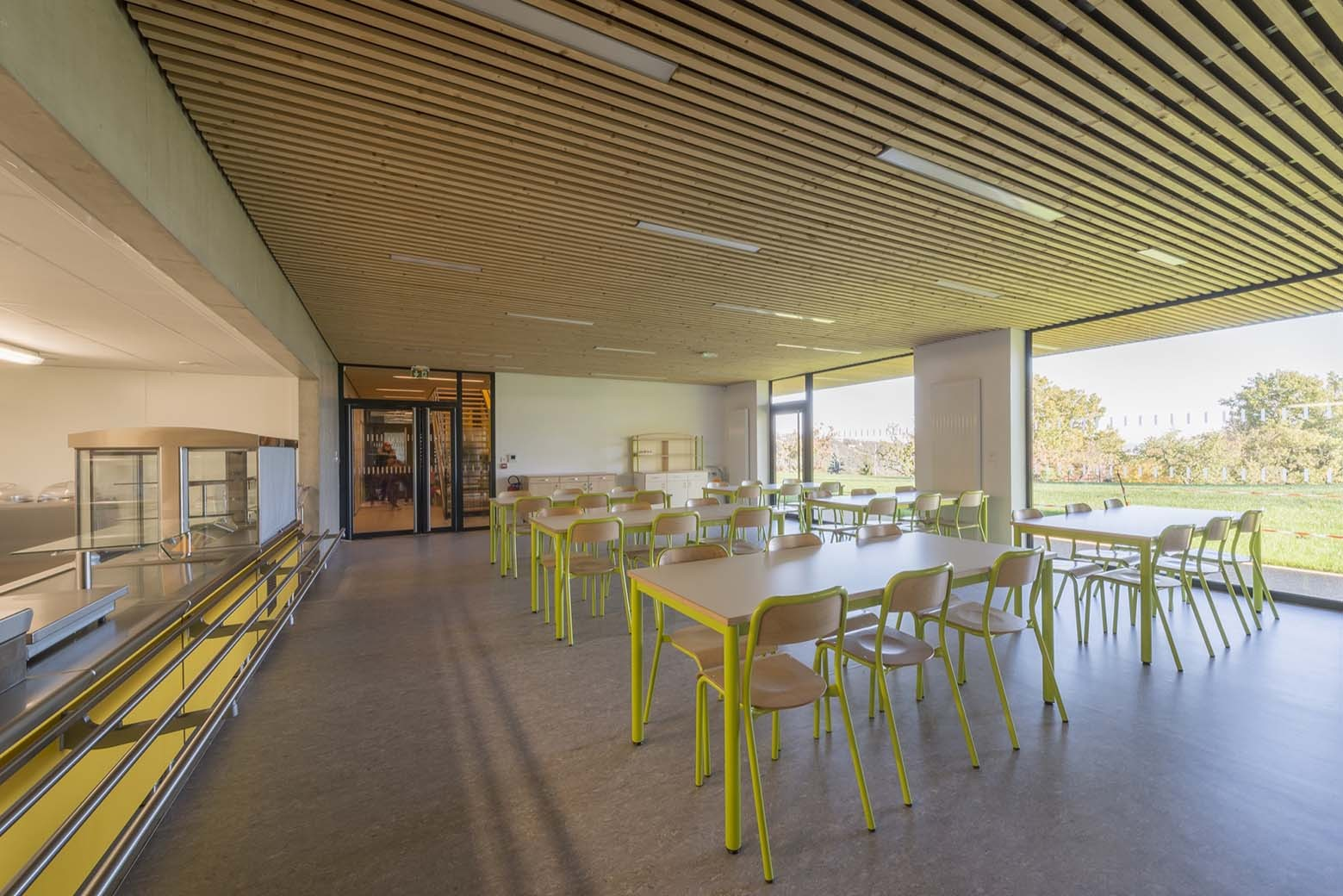 Gallery of Non-residential Day Camp Centre in Givors ...