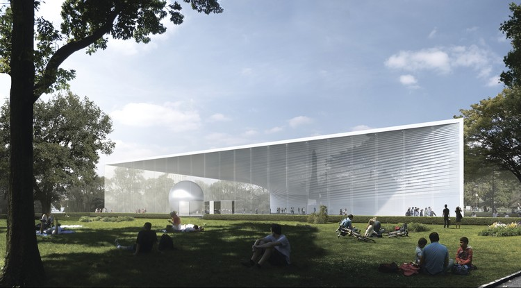 UNK project Wins Competition for Atomic Energy Pavilion in Moscow, Courtesy of UNK project