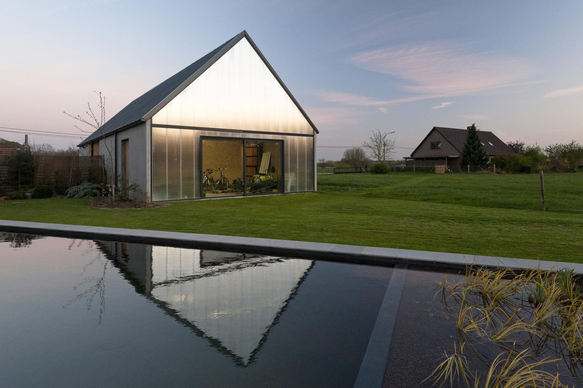 Gallery of contemporary barn p l o e g architecten 4 - The contemporary barn ...