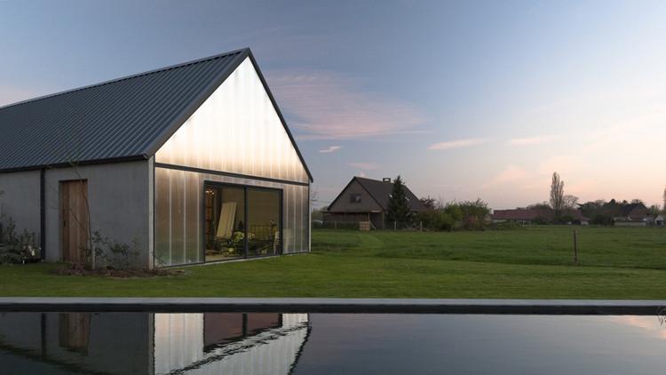Granero Contemporáneo / P L O E G architecten, © Amaury Henderick