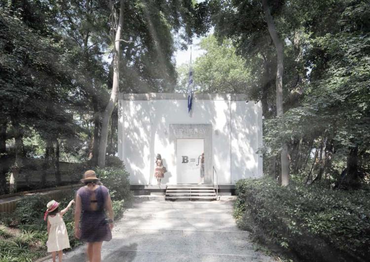 REBOOT, proposta vencedora para o Pavilhão do Uruguai na Bienal de Veneza 2016, REBOOT, proposta do Uruguai para a Bienal de Veneza 2016. Cortesia de Facundo Romero Pío