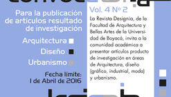 Call for Papers: Revista Designia