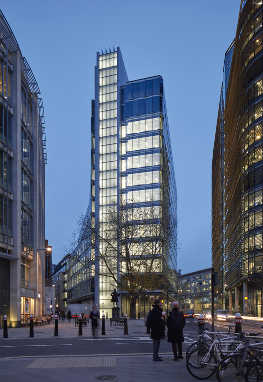 Edifício 12 New Fetter Lane / Doone Silver Architects + Flanagan Lawrence, © James Brittain