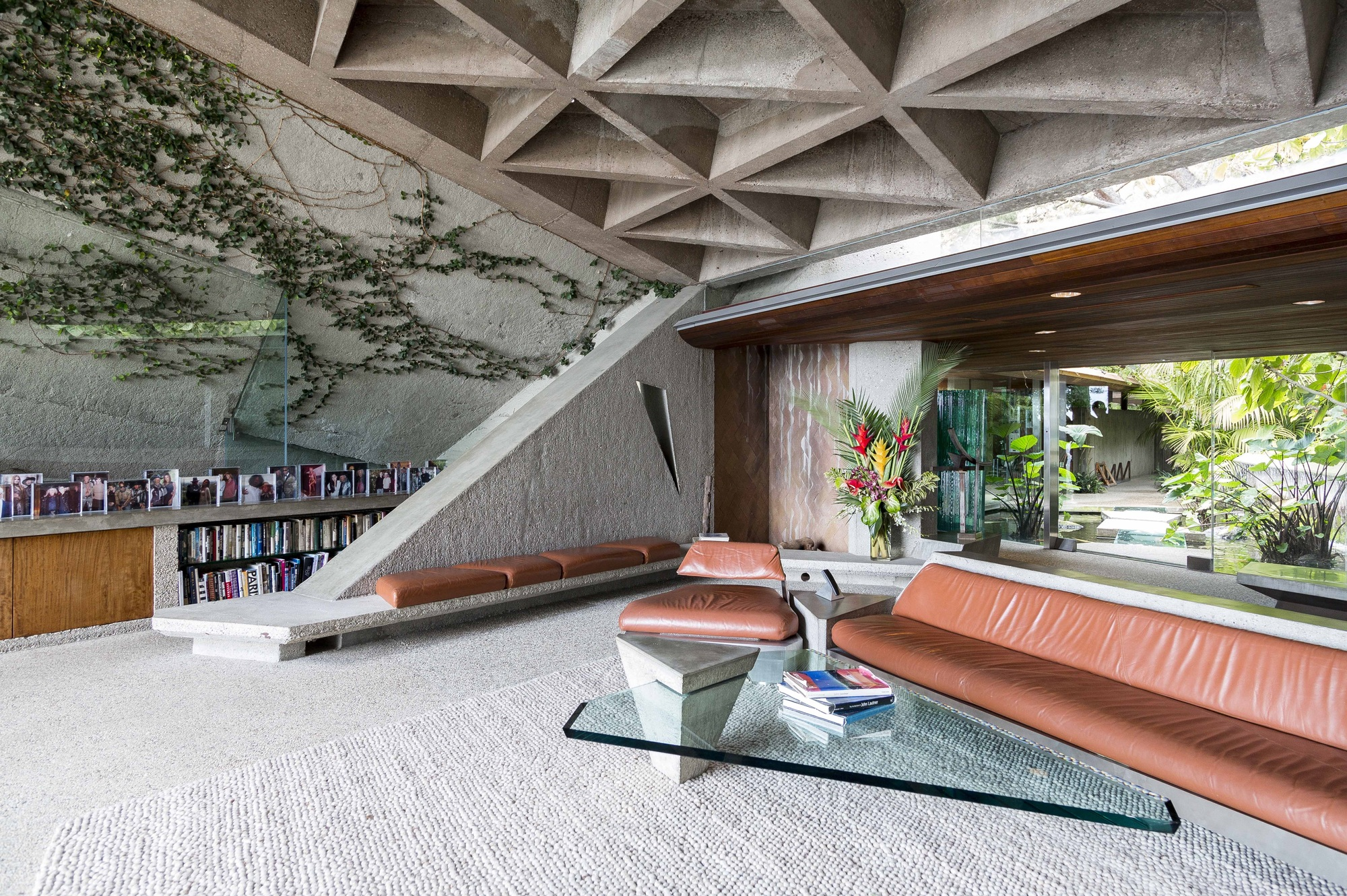 Gallery Of John Lautner S Goldstein House Gifted To Lacma