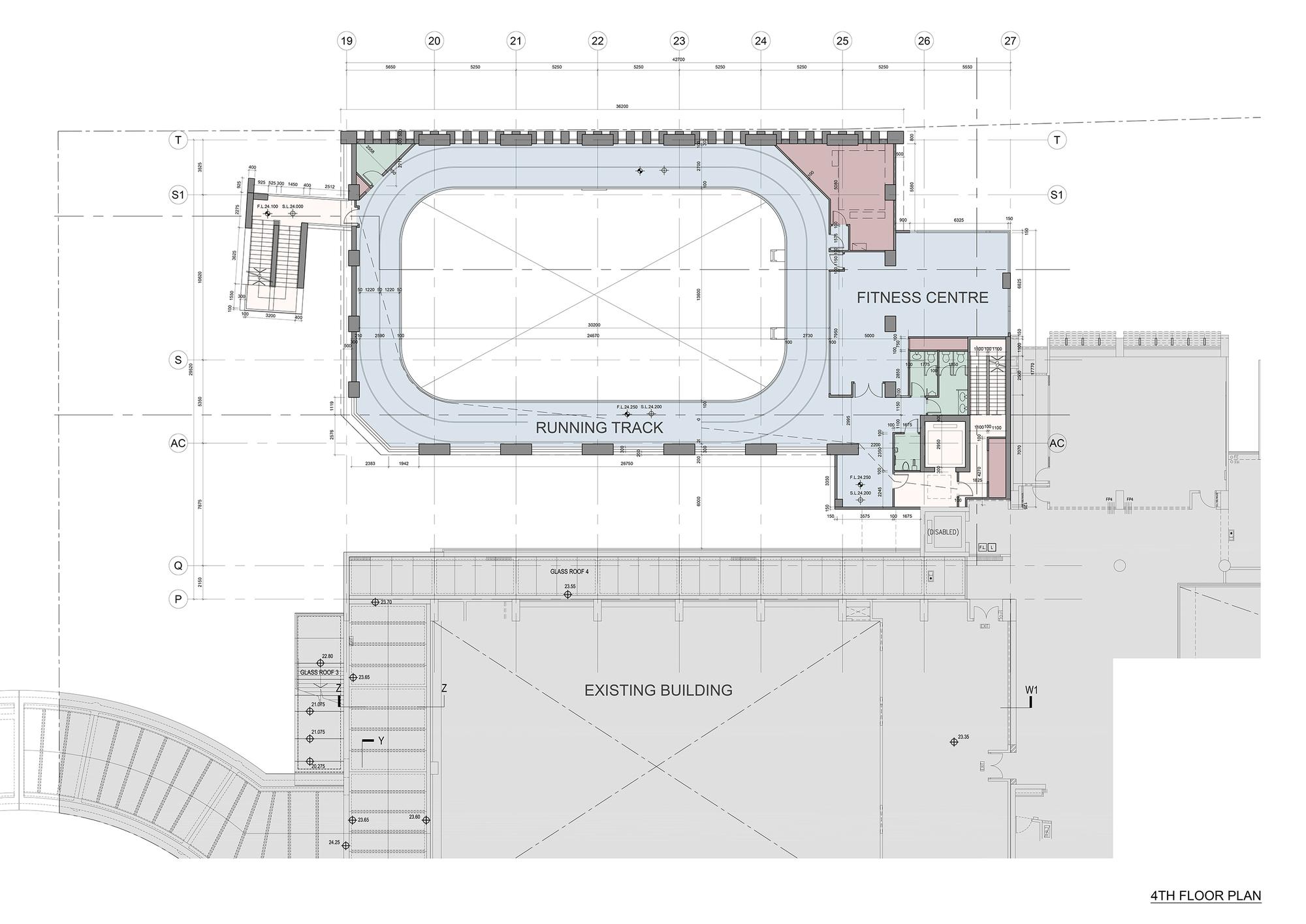 Lovely Fourth Floor Plan