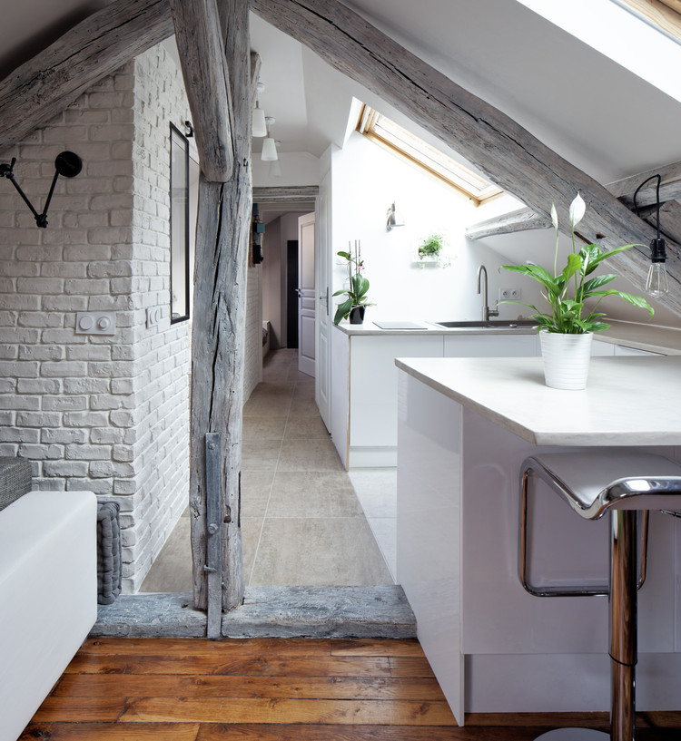 Living Under The Roof Prisca Pellerin Archdaily