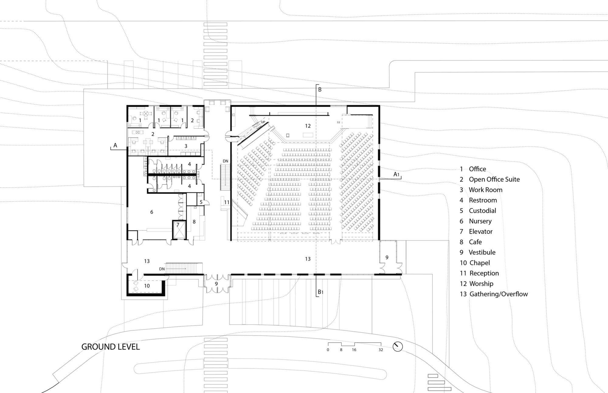 Galeria De Igreja Luterana Da Esperan 231 A Ankeny Bnim 13