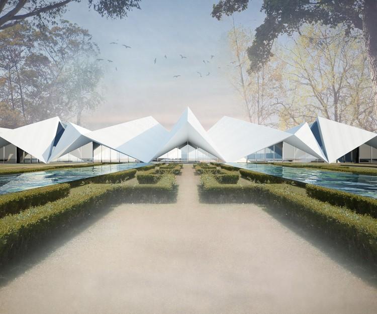 Subvert Studio vence concurso para novo edifício no parque Portugal dos Pequenitos em Coimbra, Proposta vencedora do SUBVERT STUDIO para o parque Portugal dos Pequenitos. Image Cortesia de Fundação Bissaya Barreto