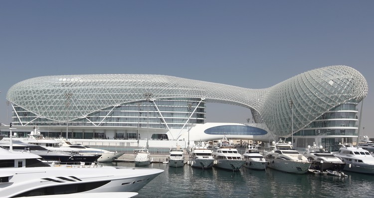 "Interview with Asymptote Architecture: ""We Are Spatial Engineers"", Yas Viceroy Hotel Abu Dhabi, UAE, 2010. Image Courtesy of Asymptote Architecture"
