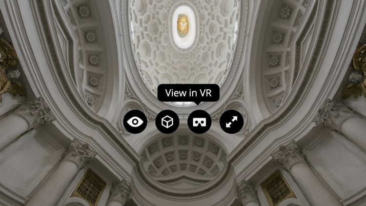 Sketchfab CEO Discusses the Impending Revolution of VR in 2016, Image adapted from screenshot of San Carlo alle Quattro Fontane model by Matthew Brennan. Image via Sketchfab