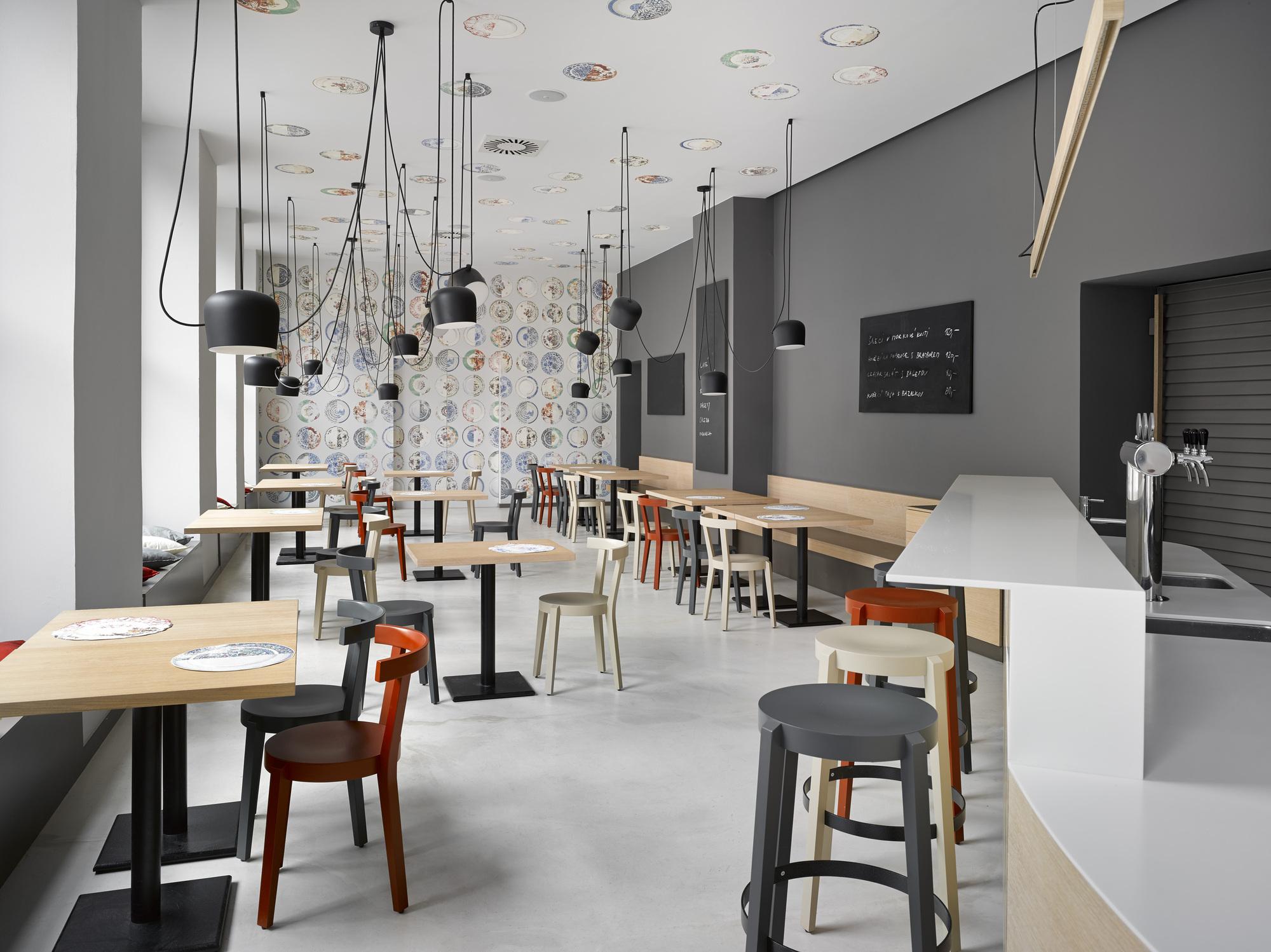 Gallery Of Cafe Bistro Bakery Zahorsky Jra Jarousek
