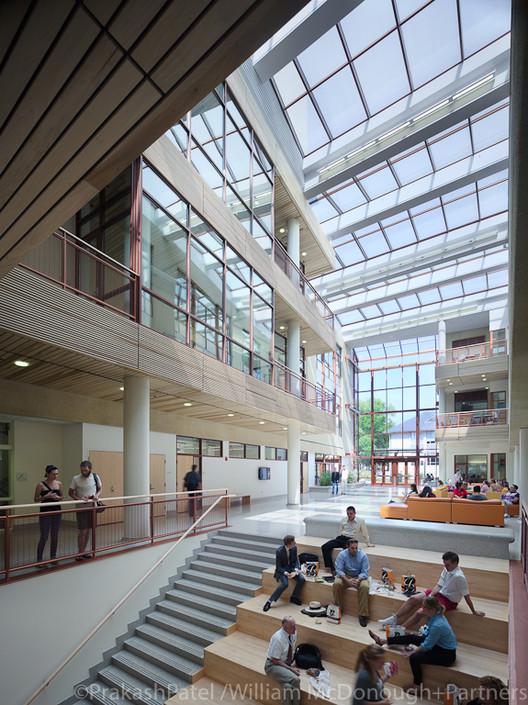 American University School of International Service. Image © Prakash Patel/William McDonough + Partners