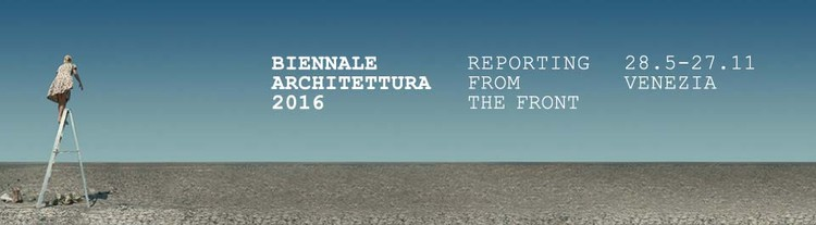 "Alejandro Aravena divulga mais detalhes sobre a Bienal de Veneza 2016 - ""Reporting From the Front"", Cortesia de La Biennale"