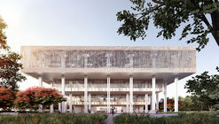 Mecanoo Wins Competition to Design Tainan Public Library