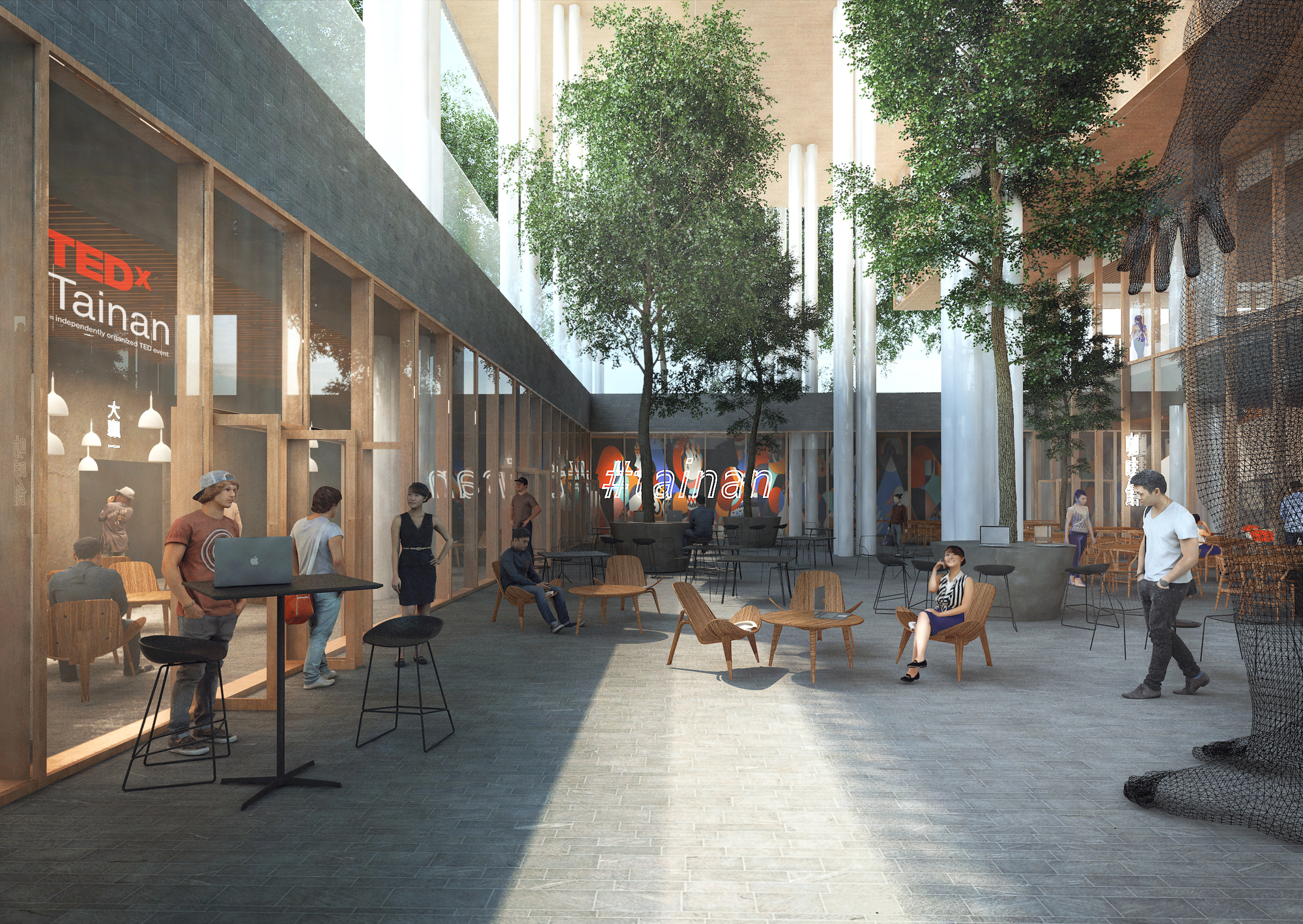 Gallery of Mecanoo Wins Competition to Design Tainan