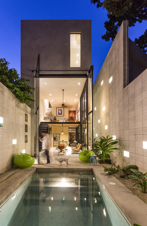 Archi In Casa Moderna naked house / taller estilo arquitectura | archdaily