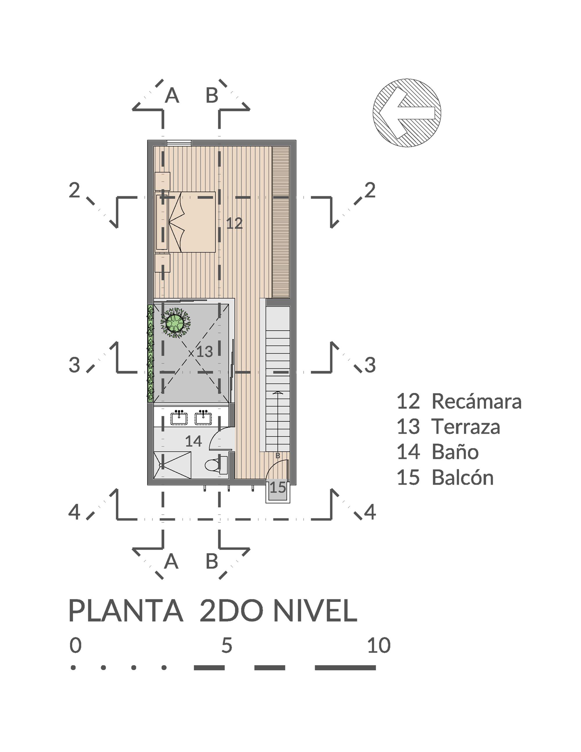 Galer a de casa desnuda taller estilo arquitectura 30 for E case del sater