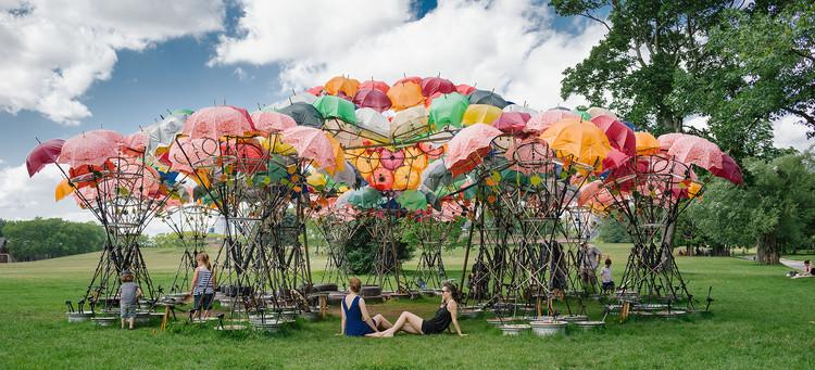 Izaskun Chinchilla entre las 20 mujeres más destacadas en el arte español, Pabellón 'Organic Growth' en Nueva York. Image © Miguel de Guzmán