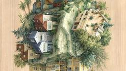 Abismo arquitetônico nas ilustrações de Cinta Vidal
